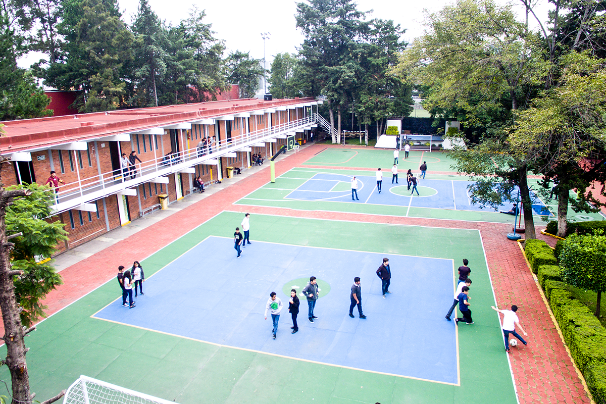 Canchas y Salones Colegio Chimalistac