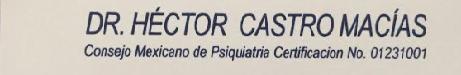Dr. Hector Castro